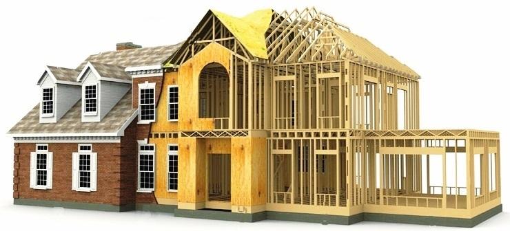 Каркасные дома под ключ цена