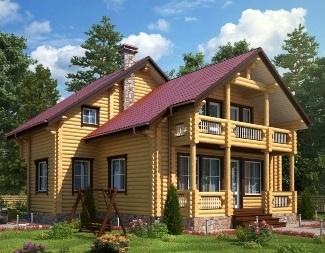 Проекты домов из оцилиндрованного бревна Иркутск