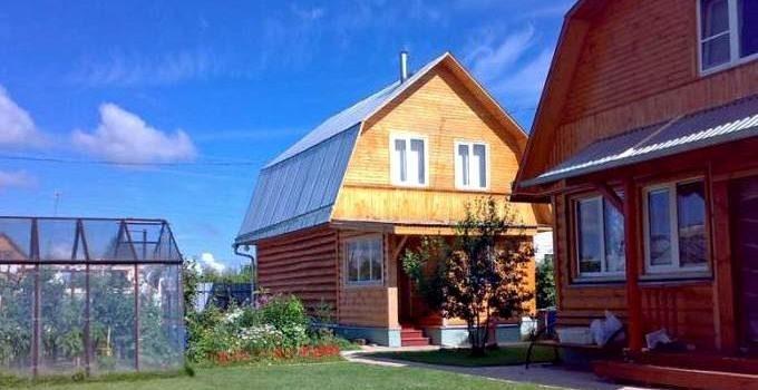 Строительство дачных домов в Иркутске