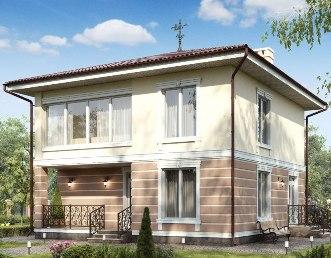 Проекты домов из газобетона Иркутск