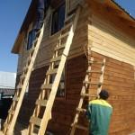 конопатка дома из бруса