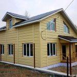 Каркасный дом 12 х 12 — 240 м2
