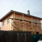 Панельный дом с цоколем 9 на 7,5 — 135 м2