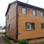 Фасадные работы, наружная отделка дома